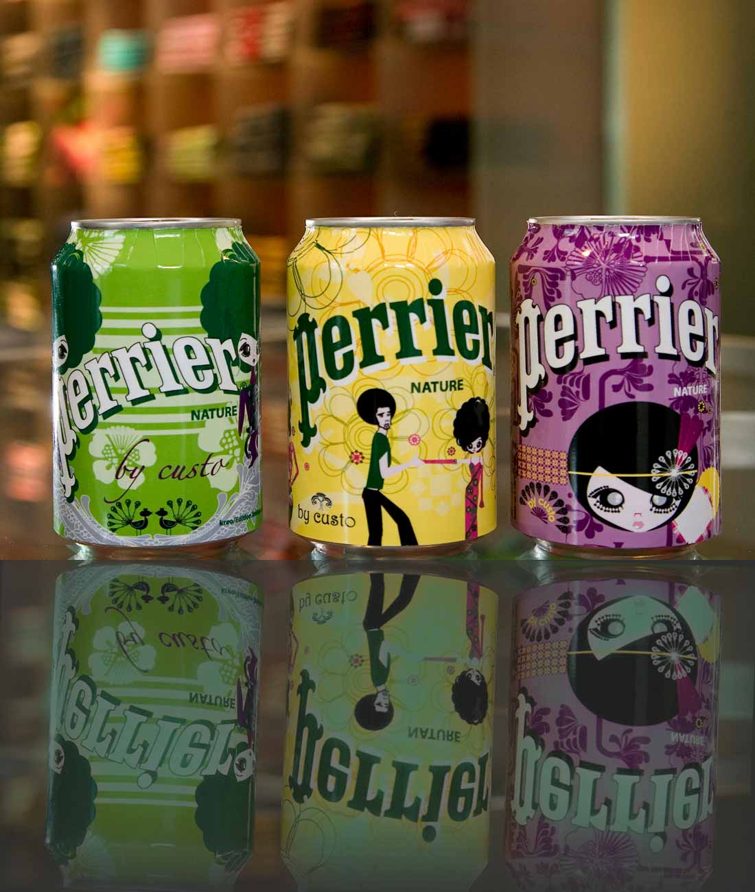 Perrier By Custo Barcelona slide